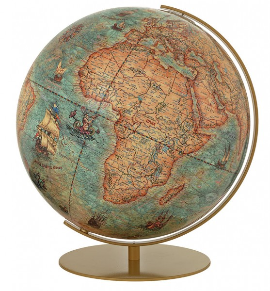 Columbus Imperial, illuminated Globe - Ø 40 cm / 13,4 inch