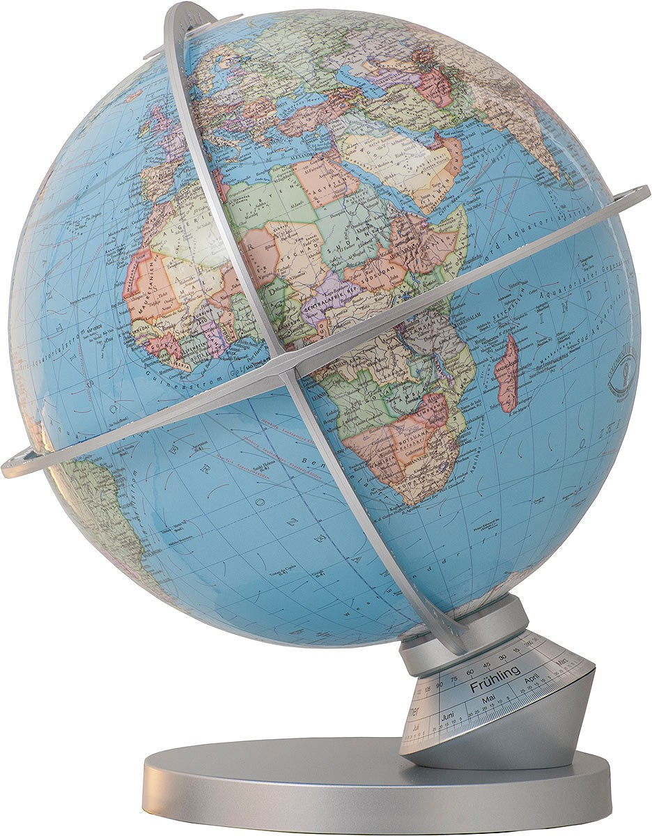 Map In Earth%0A COLUMBUS DUO Planet Earth       cm      inch   Illuminated Globes   handcrafted   Desk Globes   Columbus Globes