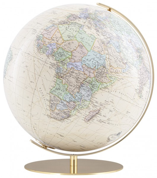 Columbus Royal, illuminated Globe Ø 40 cm / 16 inch