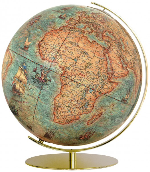 Columbus Imperial, illuminated Globe - Ø 40 cm / 13,4 inch