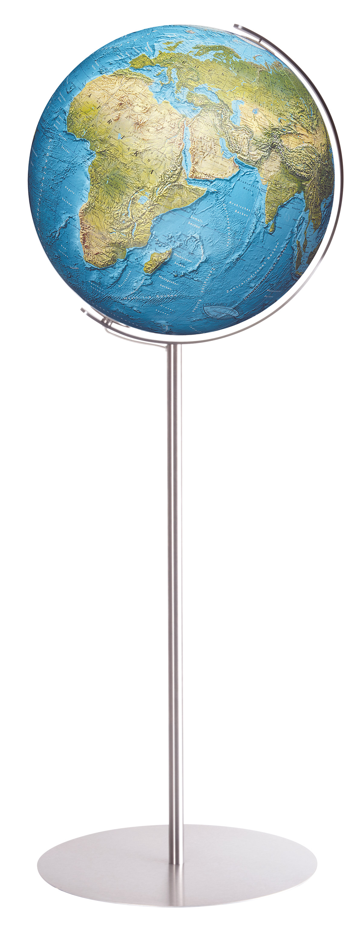 Columbus duorama floor globe 40 cm 16 inch sphere in for 10 inch reflector floor lamp globe glass