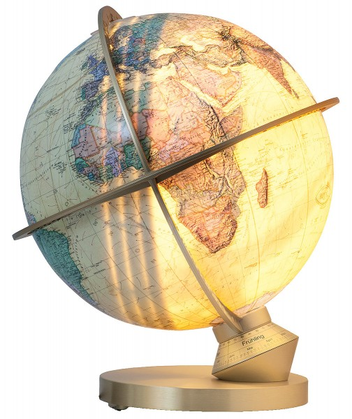 COLUMBUS ROYAL Planet Earth - Ø 34 cm / 13,4 inch