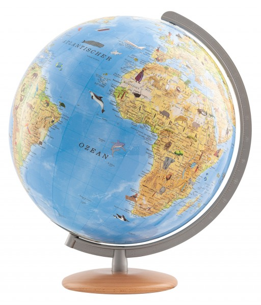 Kinderglobus COLUMBUS Unsere Erde Durchmesser 34 cm