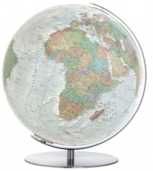 Columbus Duo Alba, illuminated Globe - Ø 34 cm / 13,4 inch