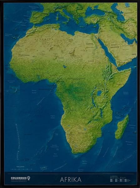 Columbus Africa continent map