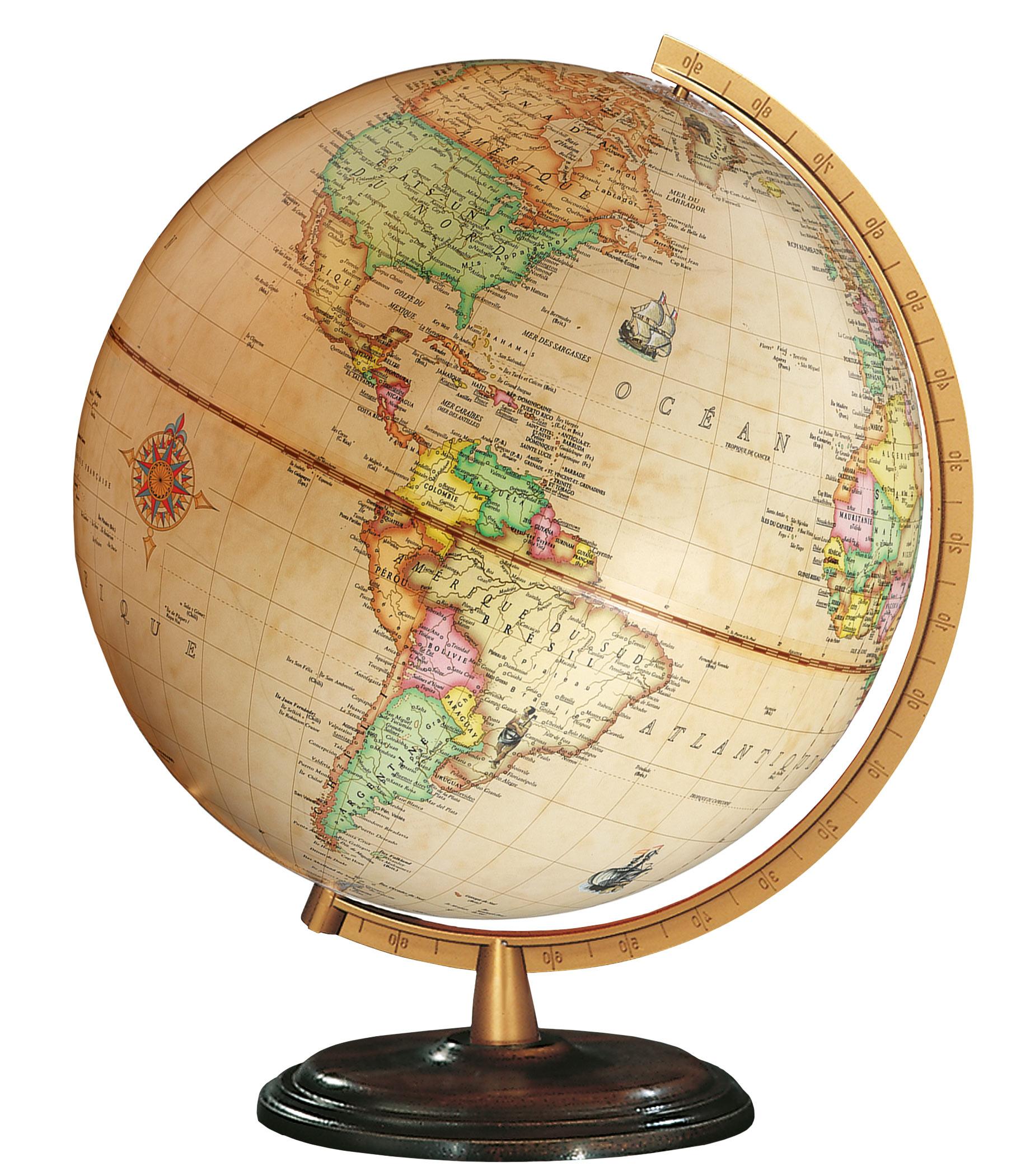 Desk Globe Columbus Renaissance O 30 Cm 12 Inch