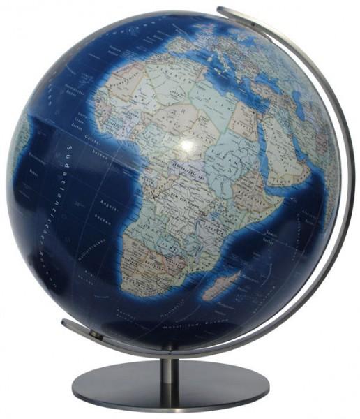 Columbus Duo Azzurro, illuminated Globe - Ø 40 cm / 16 inch