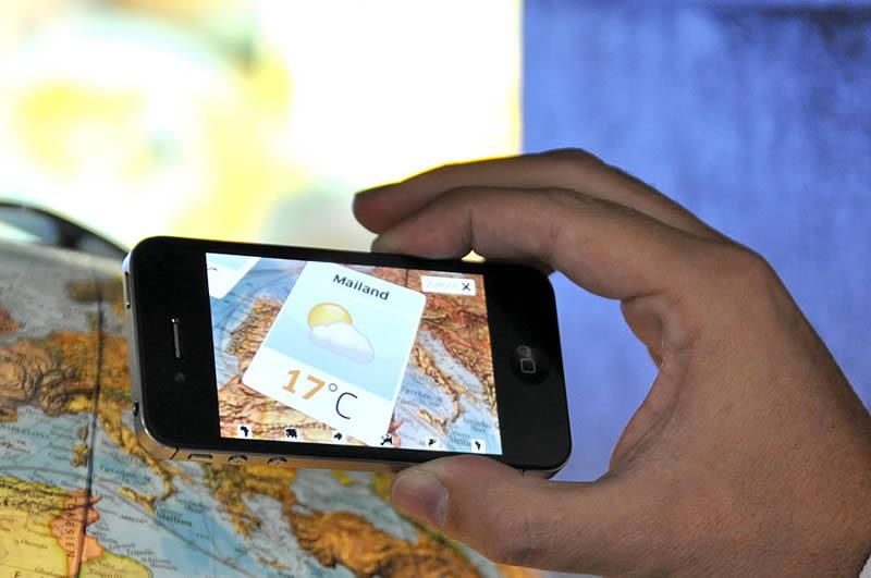 App Technologie für Columbus Globen