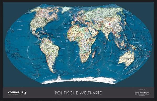 Columbus Weltkarte OID kompatibel