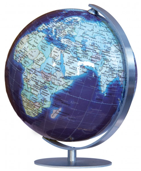 Columbus Duo Azzurro Mini Globe Ø 12 cm / 5 inch