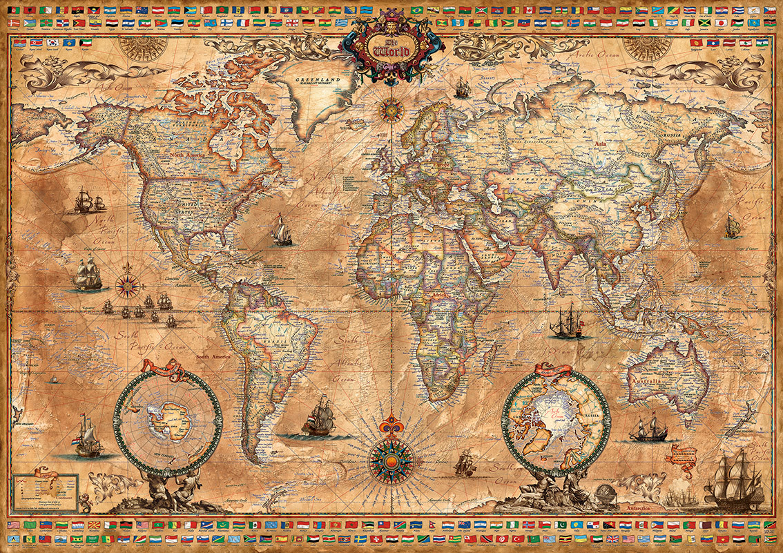kontinentkarten weltkarten kaufen columbus globus online shop. Black Bedroom Furniture Sets. Home Design Ideas