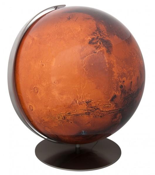 Planetenglobus Mars Leuchtglobus Ø 34 cm