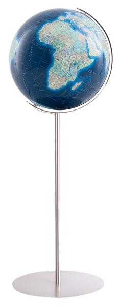 Grote verlichte bol Columbus Duo Azzurro Ø 40 cm