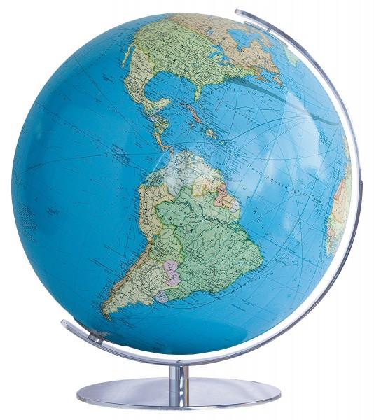 Verlichte wereldbol Duo Leuchtglobus Ø 34 cm | Acrylic bol | Globe ...