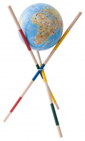 Kinderglobus COLUMBUS Mikado Unsere Erde